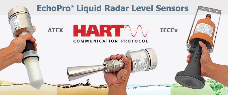Your Best Process Radar Level Sensors Now Have HART