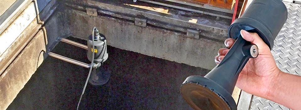 Stormwater Pump Station Liquid Level Sensor