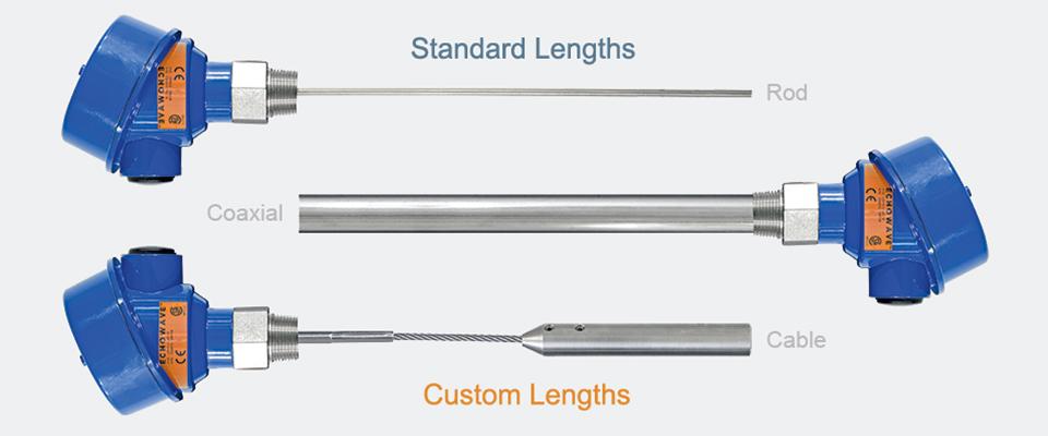 New Guided Wave Level Sensor Order Flexibility