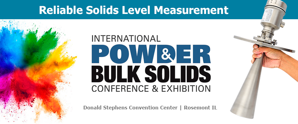See Us At Powder & Bulk Solids Show August 24th-25th