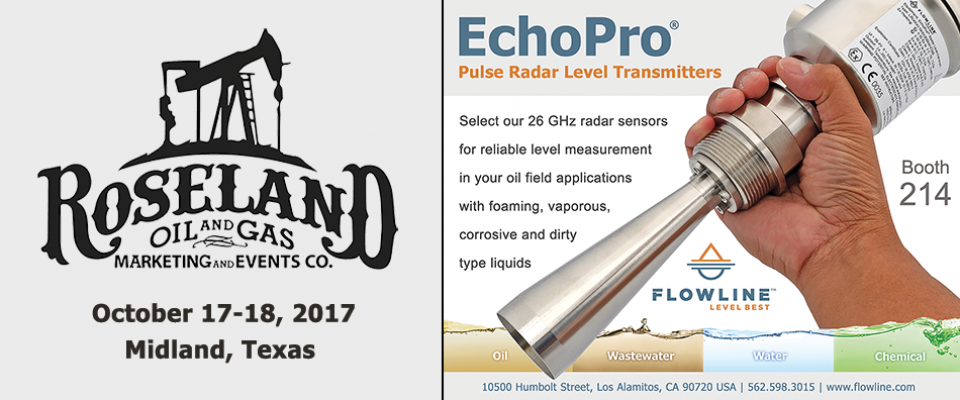 See Us At Roseland Oil & Gas Show October 17-18th