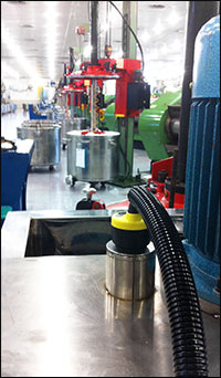 Currency Printing Ink Level Measurement