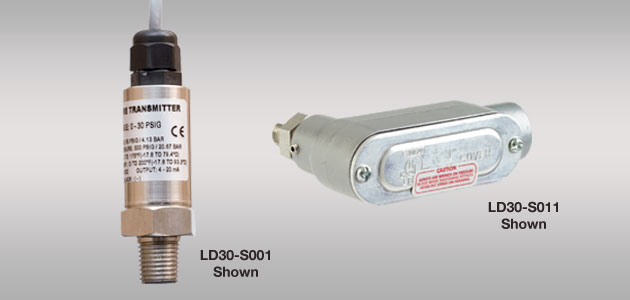 DeltaSpan<sup>™</sup> LD30 External Pressure Level Transmitter
