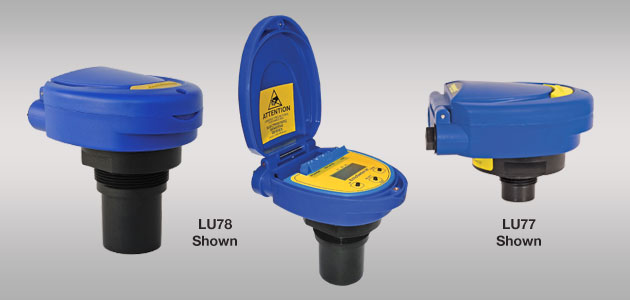 EchoSwitch<sup>®</sup> LU74-78 Ultrasonic Level Switch &#038; Controller