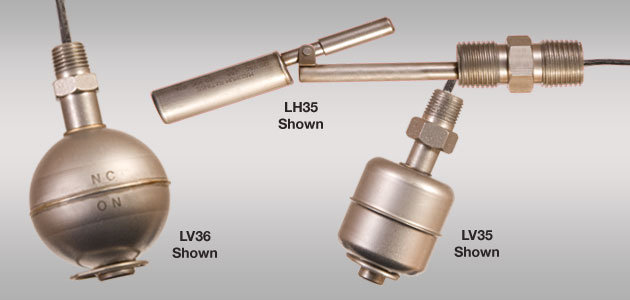 Switch-Tek<sup>™</sup> LV3X &#038; LH35 High-Temp Float Level Switch
